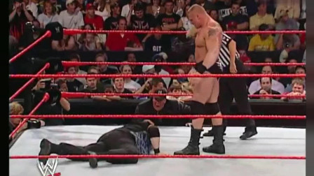 wwe野兽 WWE 保罗海曼被欺负 野兽布洛克怒火中烧 释放F5重创达德利男孩