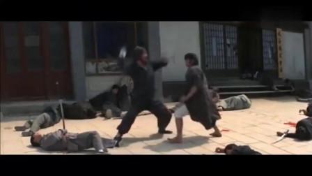 霹雳拳:铁娃霹雳神拳练成!面对日本高手谷刚,一脚踢穿胸口!