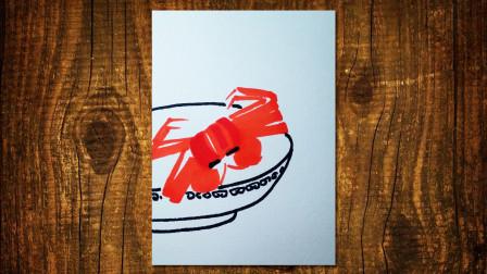 画螃蟹窦老师教画画