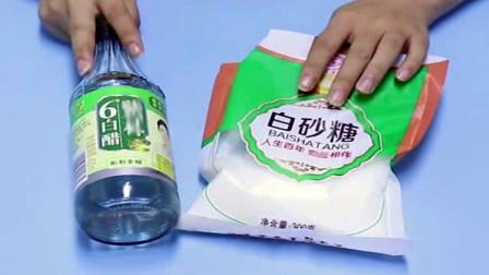 白醋和白糖搭配在一起,简单实用的小方法,解决了很多人的烦恼
