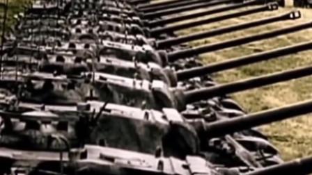"""二战德国陆军装甲师""""虎式""""坦克战实影像:当初被荷兰人称为披着铁皮的战马!"""