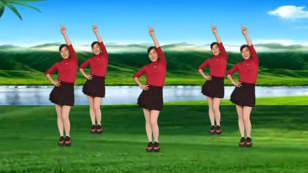 玫香广场舞原创《亲爱的你在哪里》附正背面教学