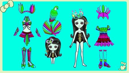 叶罗丽换装秀:超梦幻!给罗丽仙子定制五彩美丽新装扮,喜欢吗?