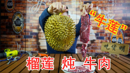 把牛肉放进榴莲里面炖三小时,炖出来的牛肉会有榴莲味吗?