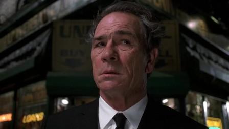 黑衣人2:大叔刚出门,发现自己不一样,竟可以发现人群中的外星人