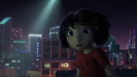 影视:少女在楼顶拉小提琴,天降直升机寻找一怪物,少女救下它