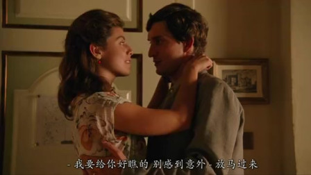 结婚前一天,丈夫来到妻子房间,婚前试爱,甜蜜热吻在一起
