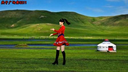 3分钟草原广场舞《天边的情哥哥》很漂亮!网友:点赞