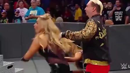 WWE:娜塔莉亚,锁技制服娜奥米,保留SD女子冠军,厉害