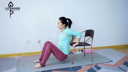 太懒了不想去健身房 一组在家就能做的瘦身动作 边看电视边运动
