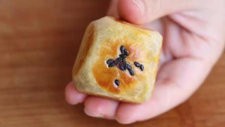中秋节别只吃月饼,教你新做法,不用烤箱不放糖,比月饼简单好吃