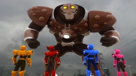 迷你特工队麦克斯变成了新的机器人怎么办?
