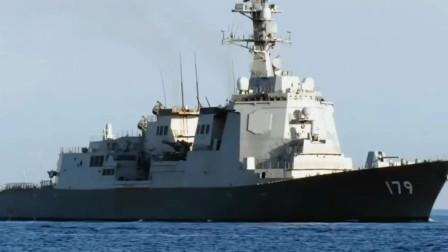 日本DDG-179摩耶号发射鱼雷,满载排水量10070吨拥有128个垂直发射单元