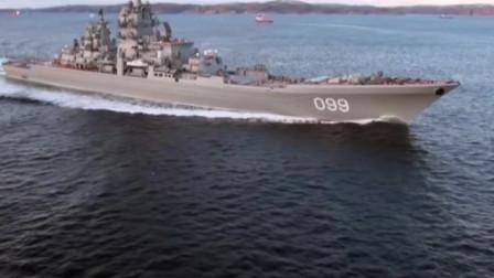 俄罗斯黑海舰队护卫舰发射巡航导弹,衰落的黑海舰队火力依然强大