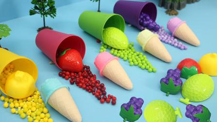 水果榨汁机 用葡萄等水果制作水果冰淇淋