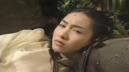 倚天屠龙记:赵敏跌落悬崖,睁开眼一看是蛛儿,以为大白天见鬼了