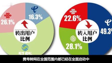 携号转网启动中,中国移动转出用户超过联通电信之和,网友:该