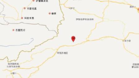 新疆阿克苏拜城县发生4.9级地震 震源深度15千米