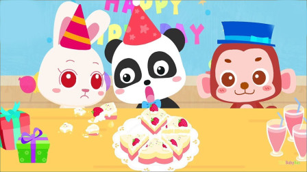 亲手制作蛋糕,体验烘焙乐趣动手能力 宝宝巴士游戏