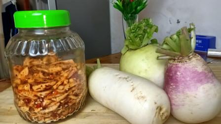 萝卜干好吃简单的做法,不用晾晒,香辣脆甜,3天就可以吃