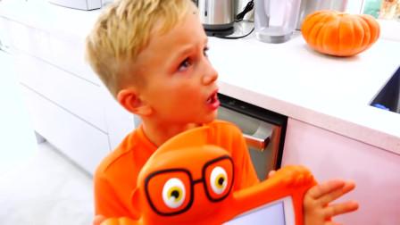 萌娃小可爱想吃冰激凌!小家伙冰激凌吃多会生病的!萌娃:我知道了!