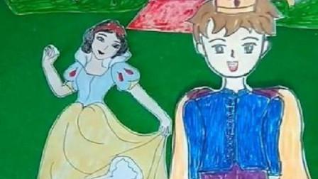 白雪竟然答应王子的求婚了,但那是僵尸变的,小朋友快告诉白雪!