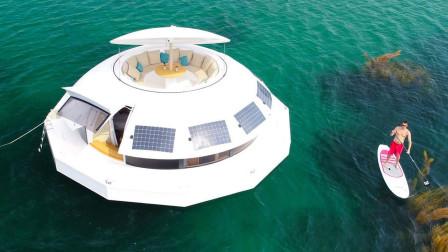 全球首家海上漂浮酒店,一半在水上,一半在水下,专为土豪打造