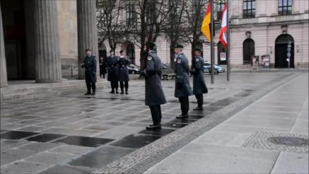 第一次看到德国士兵换岗仪式,你们觉得这气势怎么样?
