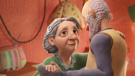 老奶奶通过织毛衣,留住她与逝去老伴的美好回忆,结局催人泪下!