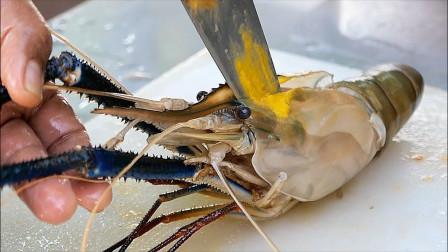 用大虾和柚子制作沙拉,这样的搭配能好吃吗?