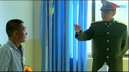 《士兵突击》硬汉一句话说出关键,说什么不走后门,硬汉硬的是骨气!