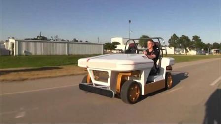 NASA造了辆漂移车,可以横着停车,在国内交警会抓吗