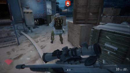 《狙击手:幽灵战士契约》敌人护甲超级厚啊,这次带的枪完全打不透啊