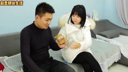 小伙芝麻酱瓶子打不开,居然让老婆支了一个开罐头的妙招!
