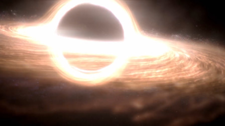 宇宙超级大黑洞失控,时速750万公里,这架势谁挡吞谁!
