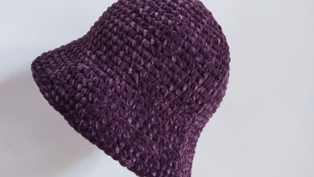 暖阳绒绒第36集网红渔夫帽的编织教程编织教学视频