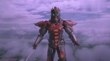 欧布奥特曼:伽古拉魔人化来救场,凯的后背有我来守护!
