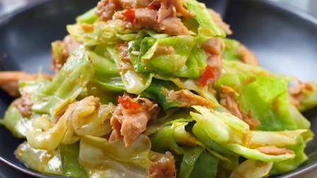 包菜超适合冬天吃,不用煮不用炒,鲜嫩爽脆超解馋
