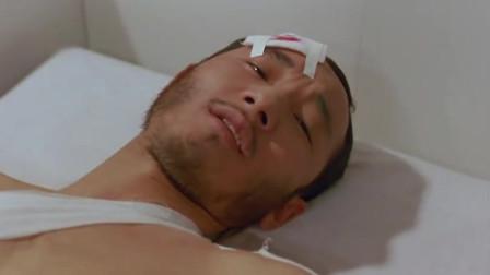 小伙为救美女身受重伤,美女心急如焚,深夜来医院看望