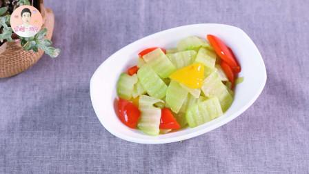 月子餐怎么吃?大厨教你做一道素炒佛手瓜,清淡营养又开胃