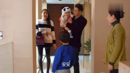二胎时代:杜娟带女儿回家,怎料儿子看到杜娟就睡觉,这可怎么办
