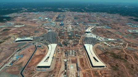超越北京大兴机场,中国又一超级机场开建,英国网友彻底炸锅