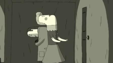 动画:不能抬头的男孩,跟不能低头的女孩,却阴差阳错的相爱了!