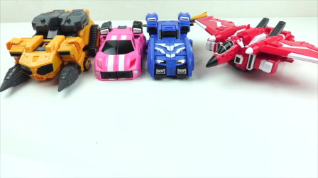 迷你特工队宝宝玩具拼装:玩玩具也是技术活呀 真的太难了