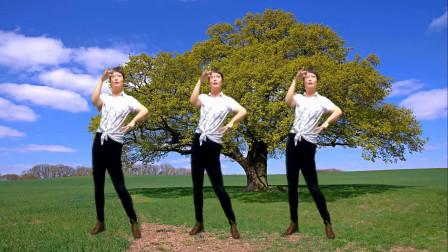 下班了吧,这支广场舞《男人花》,送给辛苦打拼的男人和女人们