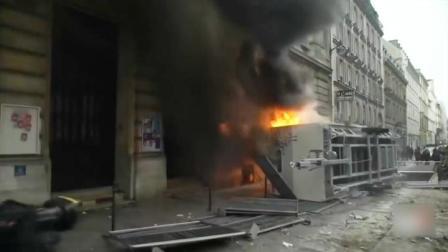 大规模罢工席卷法国 超80万人不满养老金改革上街抗议
