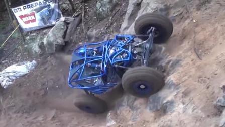 以为是玩具车,离近才知道是UTV,牧马人,大G都爬上不去!