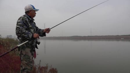 传统钓--229、【徐圩河道垂钓鲫鱼、上】