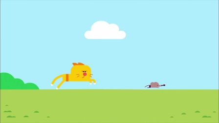 嗨道奇第一季:喜欢抓老鼠的猫咪