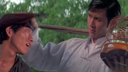 功夫电影:恶霸到饭店吃霸王餐,不料饭店伙计一身武艺,这下惨了
